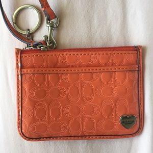 Coach wallet/wristlet or card holder
